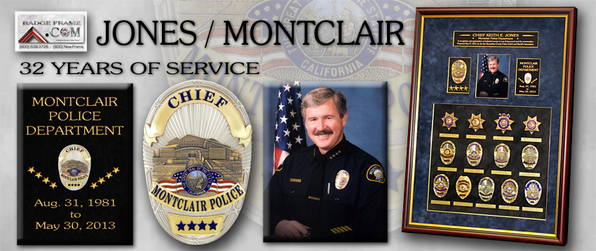 Keith Jones - Montclair PD Chief