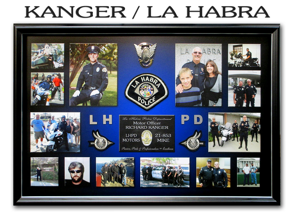 Police Misc. Framing Projects by Badge Frame