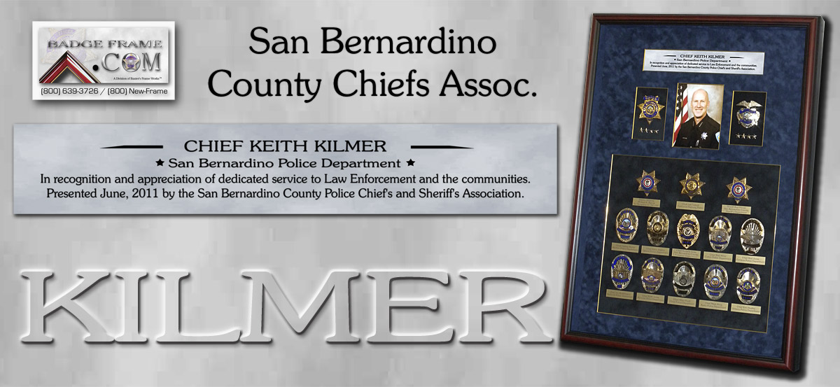 Chief Keith Kilmer - SBPD Chief's Presentation