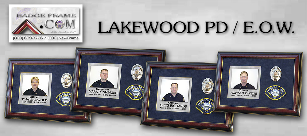 Lakewood PD - Fallen                 Officers