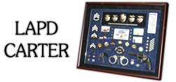 Police Shadowbox -LAPD - Carter