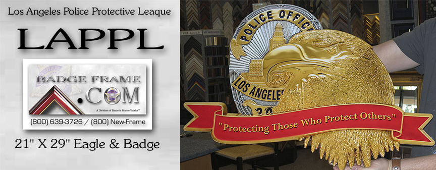 LAPPL - Eagle and Badge