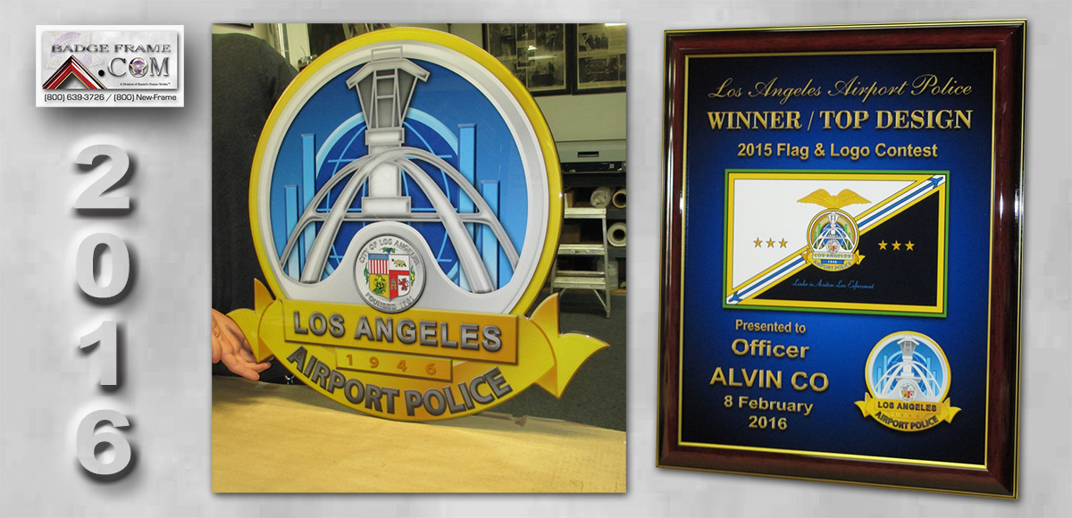 Los Angeles World Airport projects           from Badge Frame