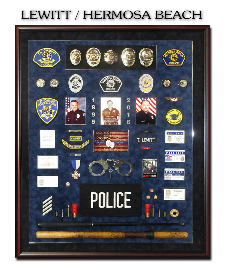 Lewitt -                 Hermosa Beach PD Presentation from Badge Frame