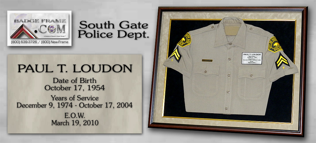 Loudon - South Gate PD