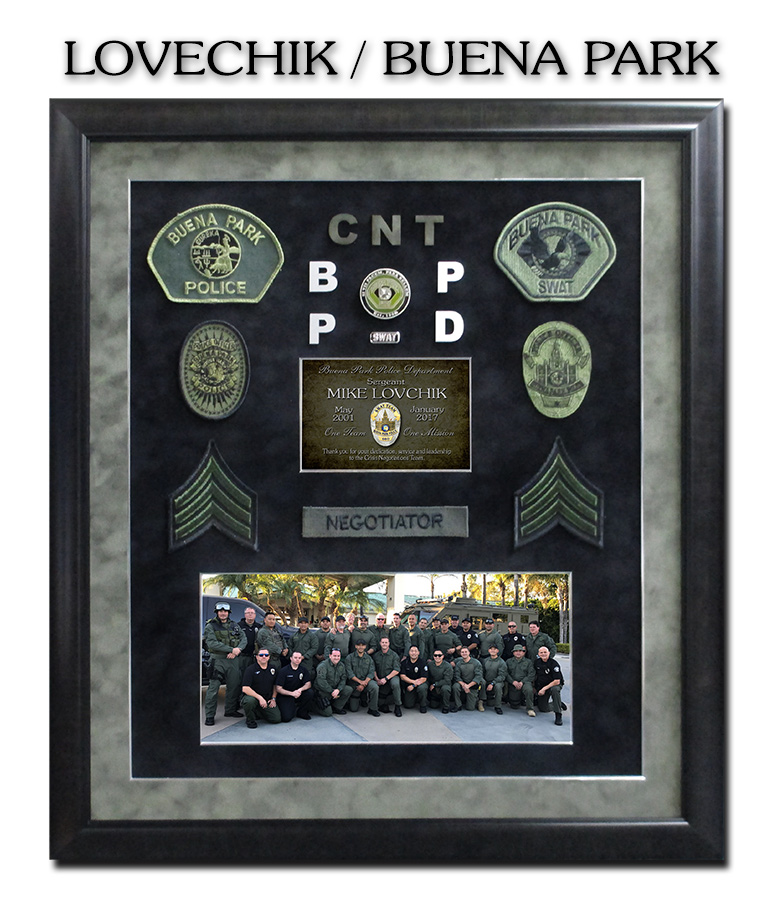 Buena Park SWAT           presentation from Badge Frame for Lovechik