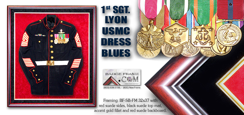 Lyon - Dress Blues