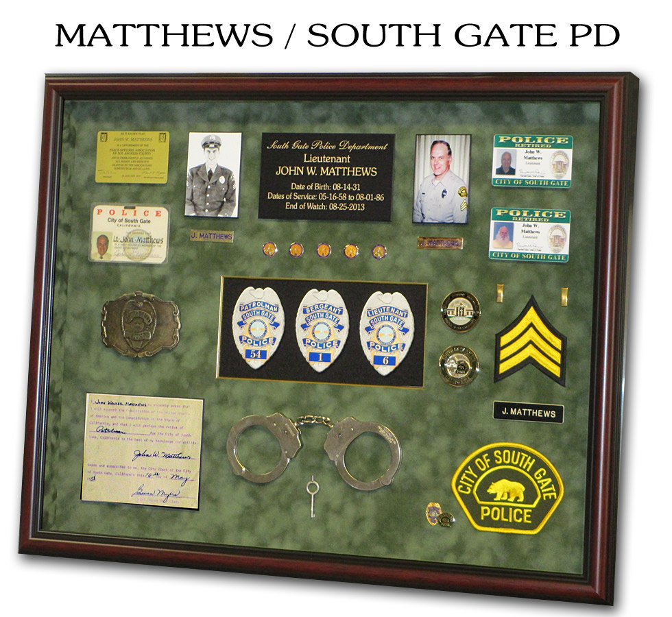 Matthews - South Gate PD