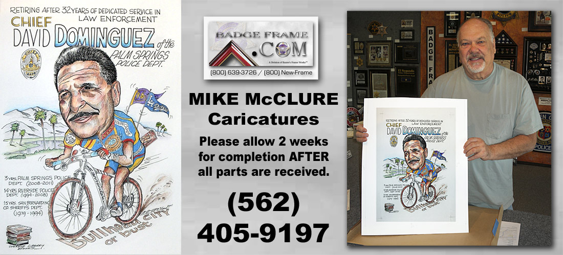 Mike McClure Caricatures