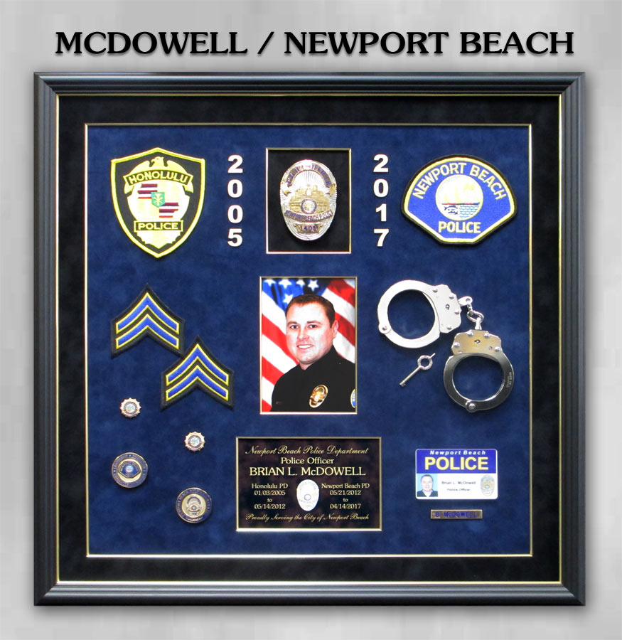 McDowell - Newport Beach PD                 Police Retirement