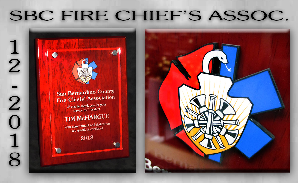 McHargue / San Bernardion Fire Chief's Assoc.