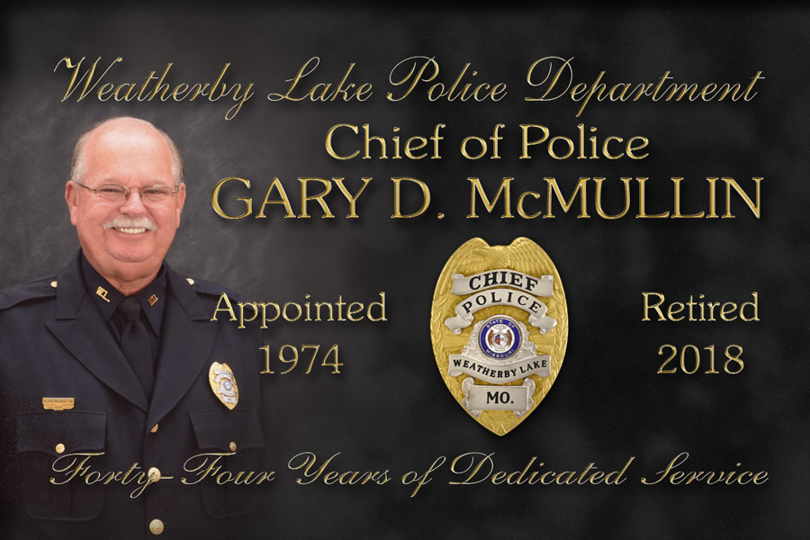 Police Chief Gary McMullen