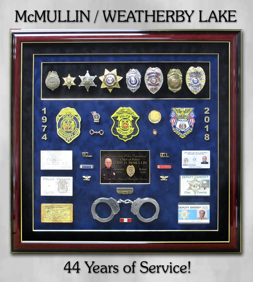 McMullin / Weatherby Lake PD Retirement