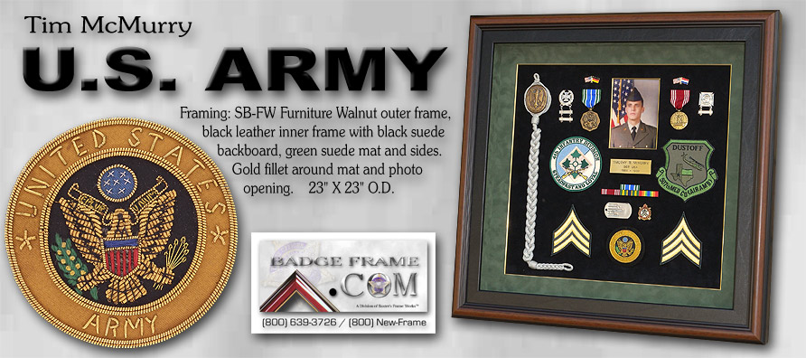 Tim McMurry - US Army Medal Presentation