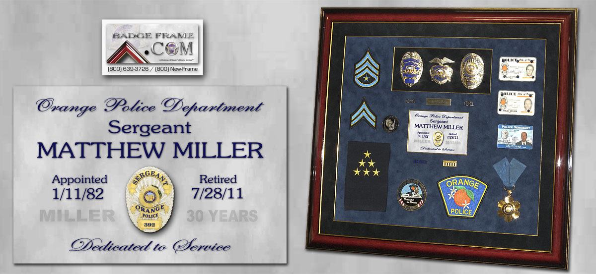 Sgt. Matthew Miller - Orange PD