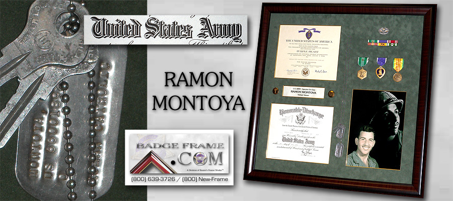 Ramon Montoya - US                 Army