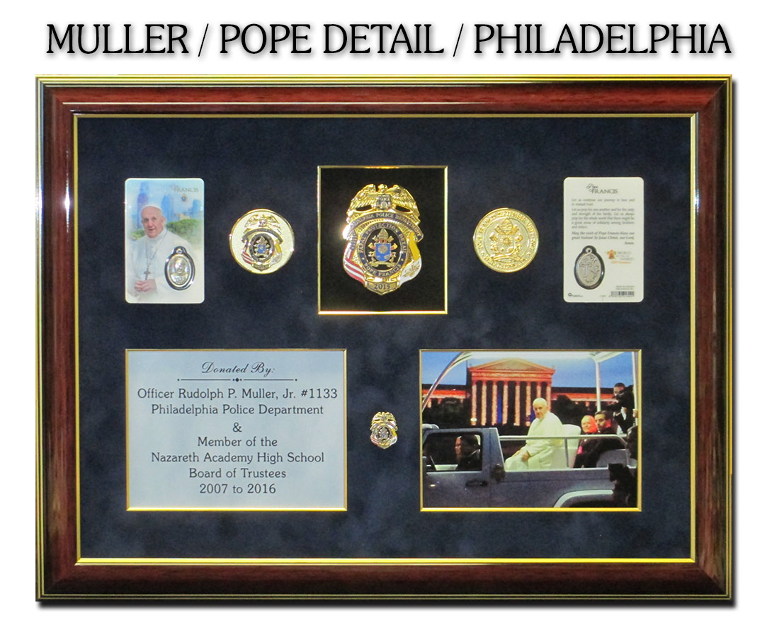 Muller           / Pope Detail / Philadelphia PD