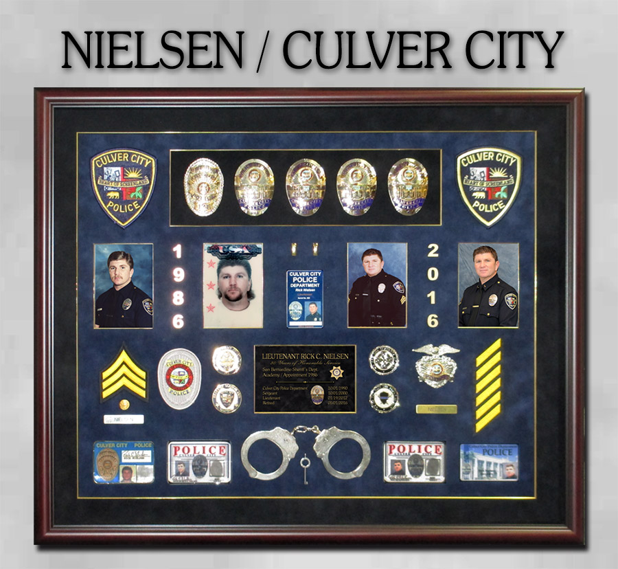 Nielsen - Culver City PD Retiement                             Presentation from Badge Frame 8/2016