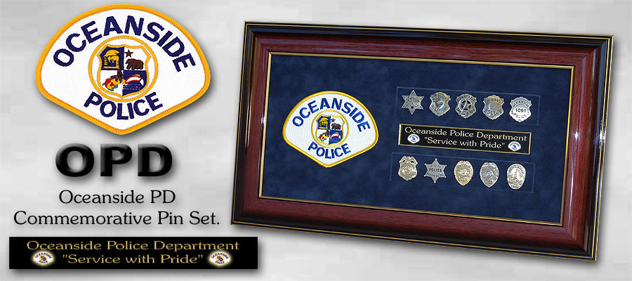 oceanside PD pin set