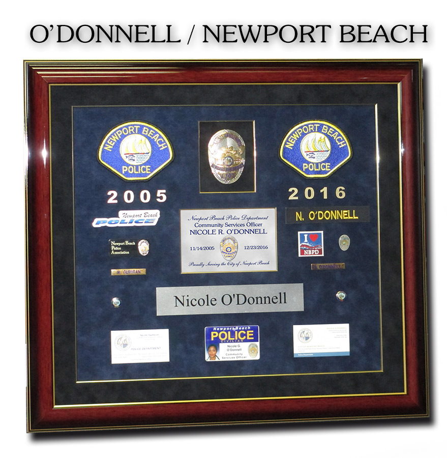 Newport Beach PD -                   O'Donnell Presentation from Badge Frame 11/2016