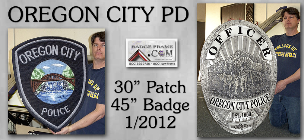 Oregon City PD - Badge & Patch