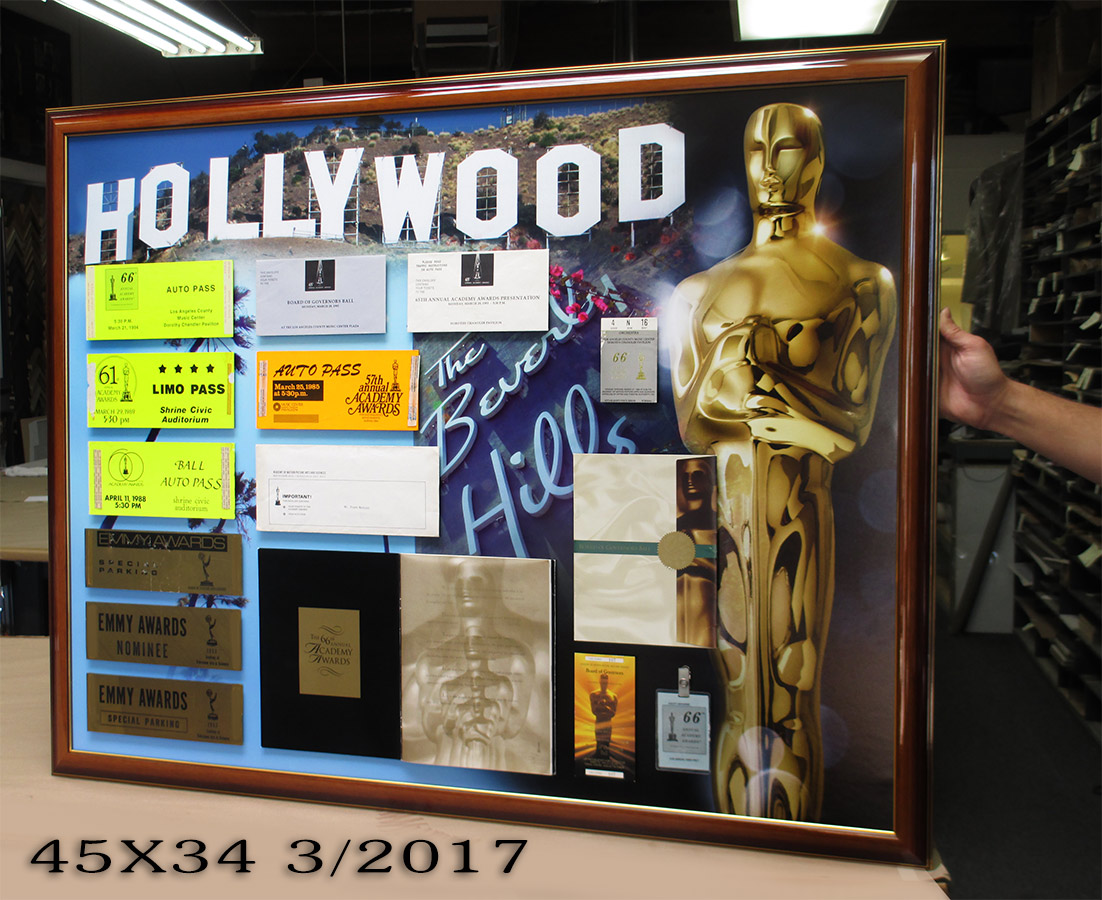 Oscars Presentation           from Badge Frame