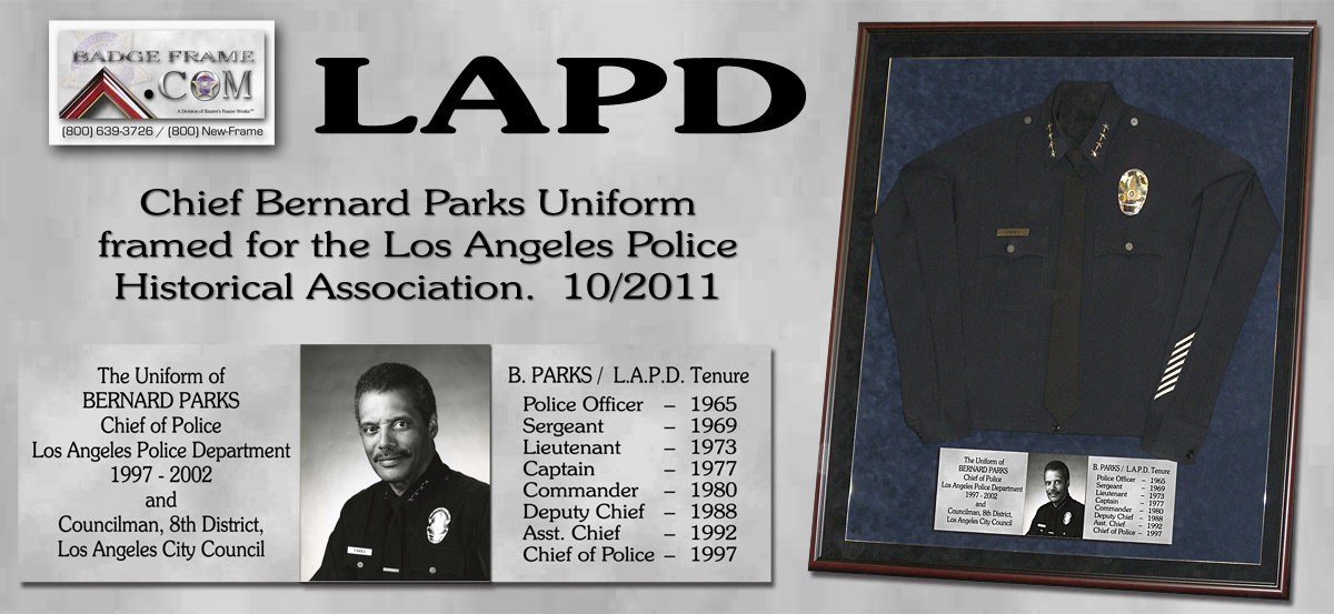 Chief Bernard Parks Uniform