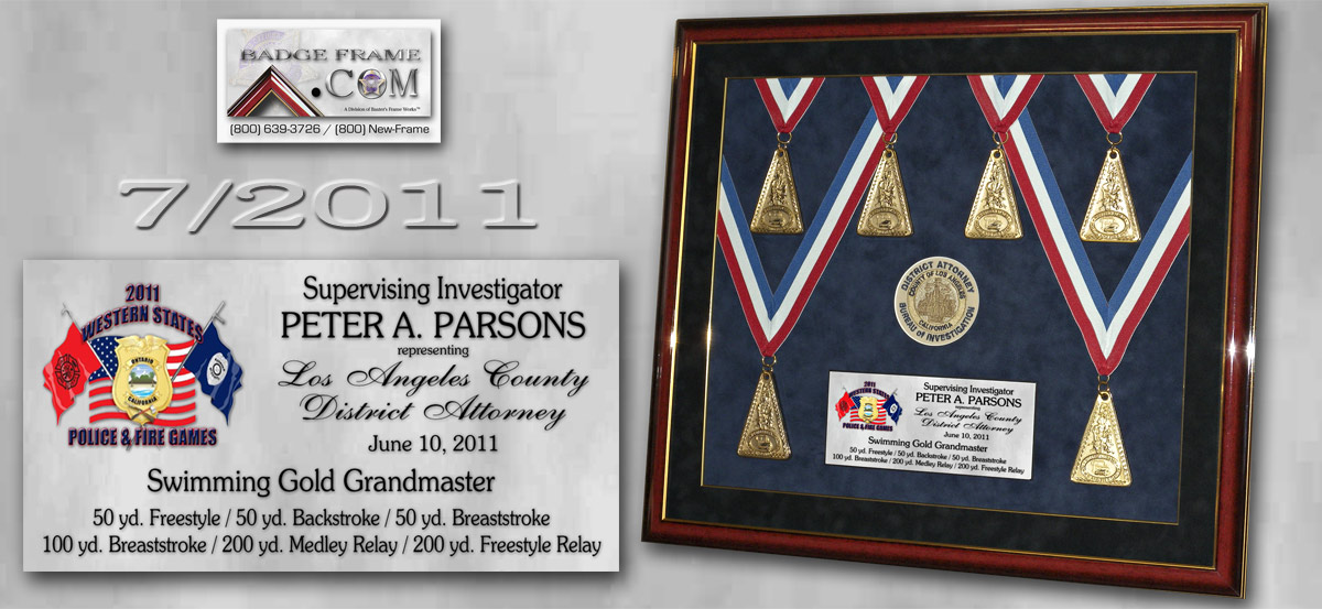 Parsons - Swimming Medals