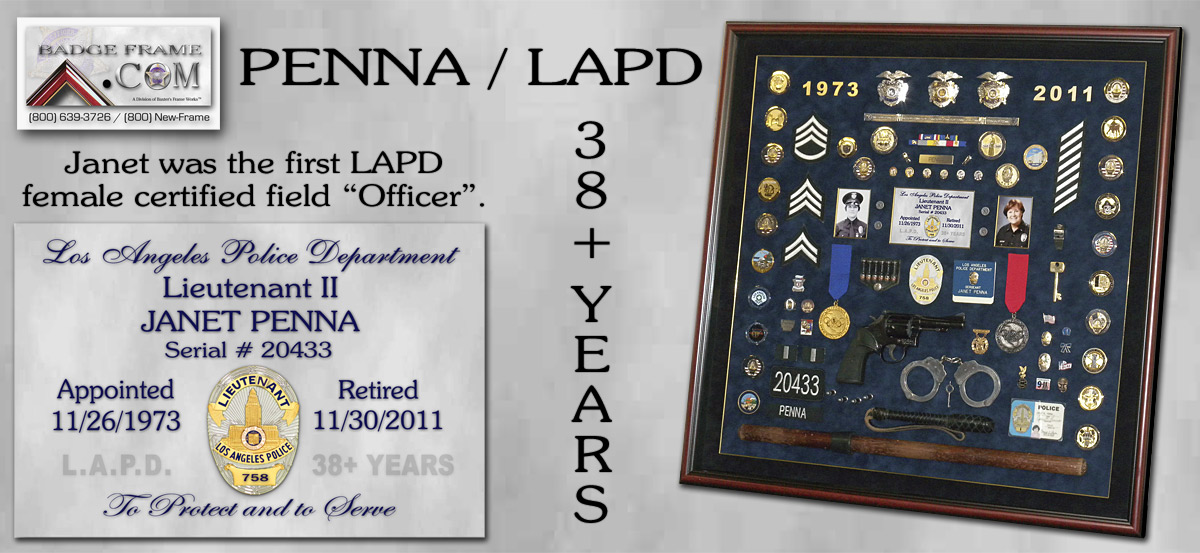 Janet Penna - LAPD