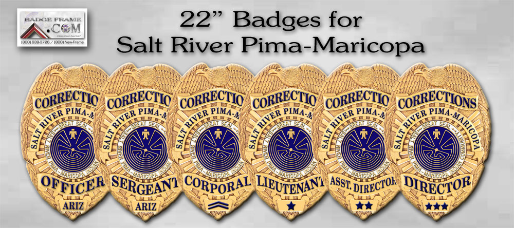 Salt River Pima Maricopa Badges