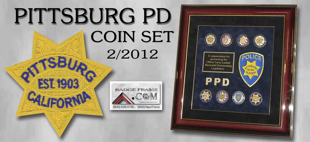 Pittsburg PD - Coin Set