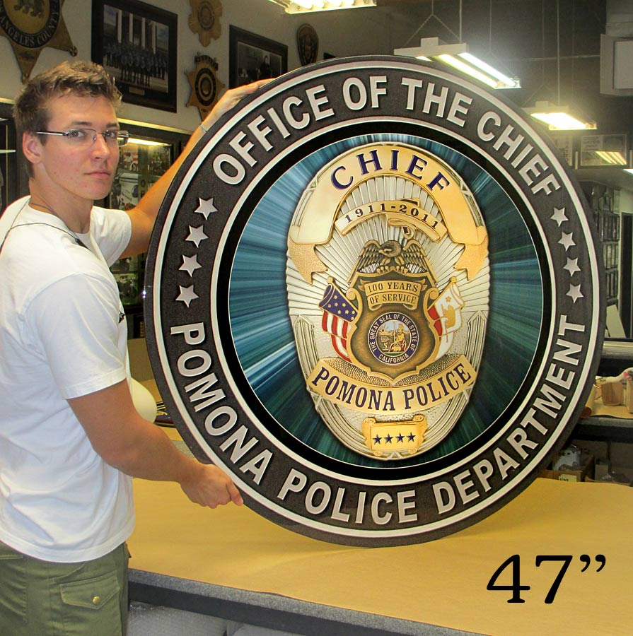 Pomona PD - Chief Seal