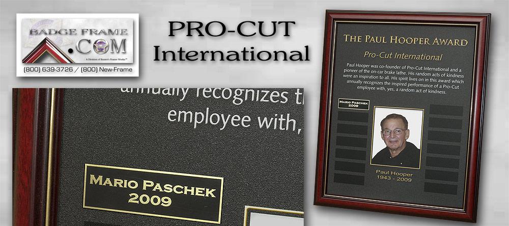 Pro-Cut Intl.