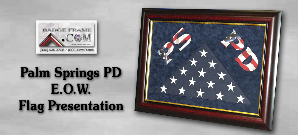 Palm Springs PD - Flag