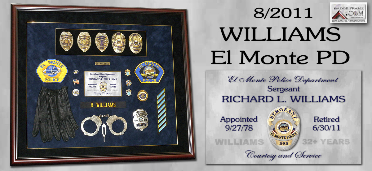 Rich Williaoms - El Monte PD