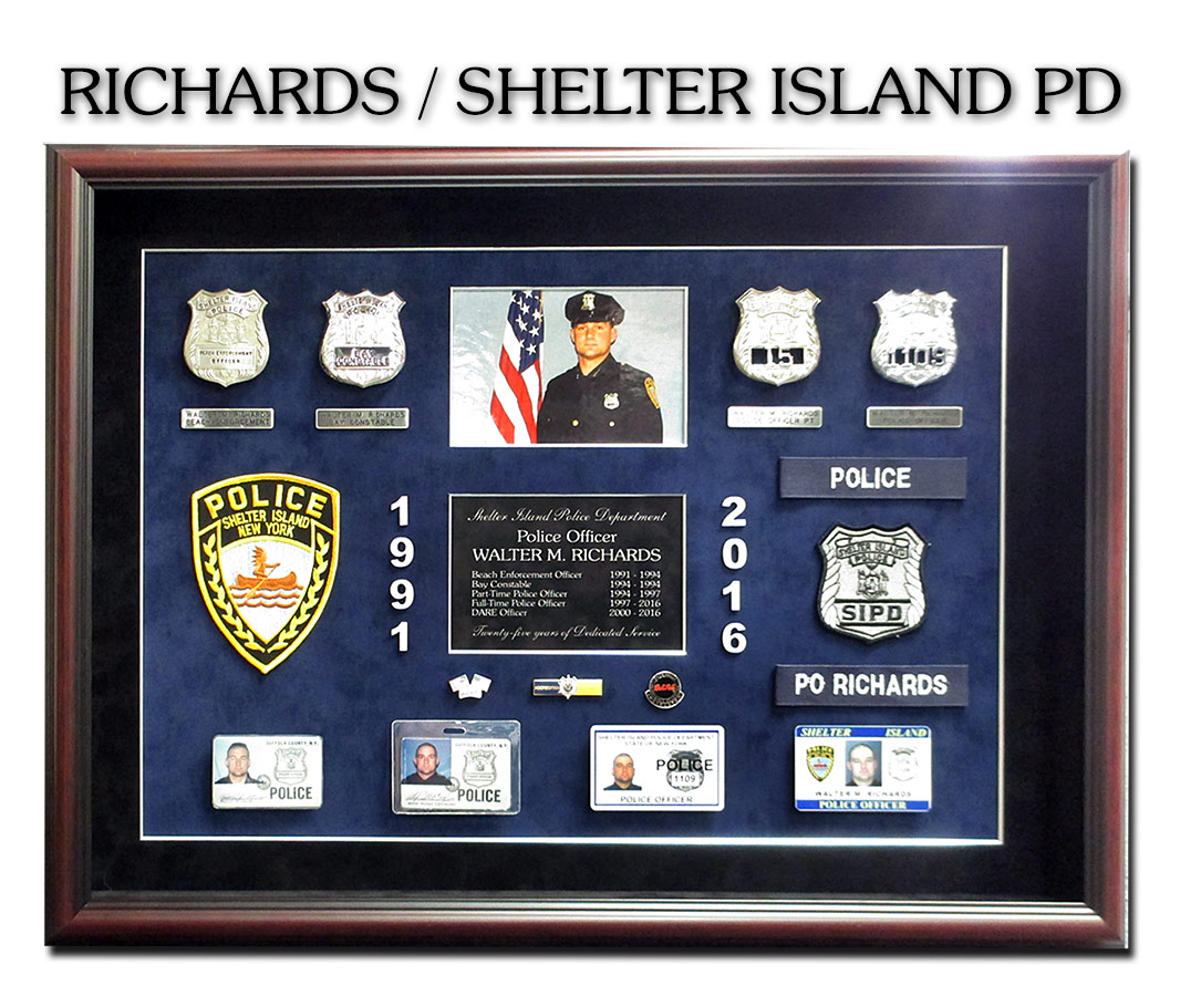 Richards - Shelter Island             PD presentation from Badge Frame