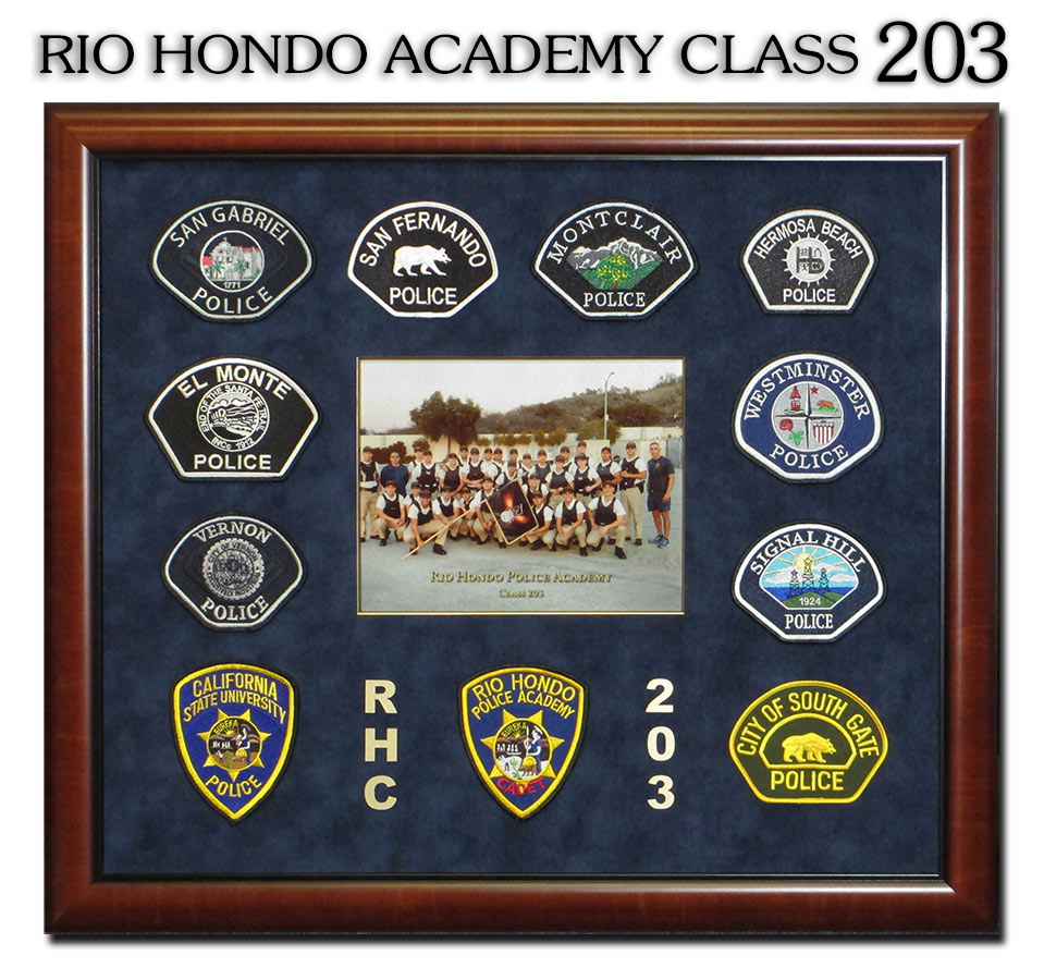 Rio Hondo Academy presentation from Badge Frame