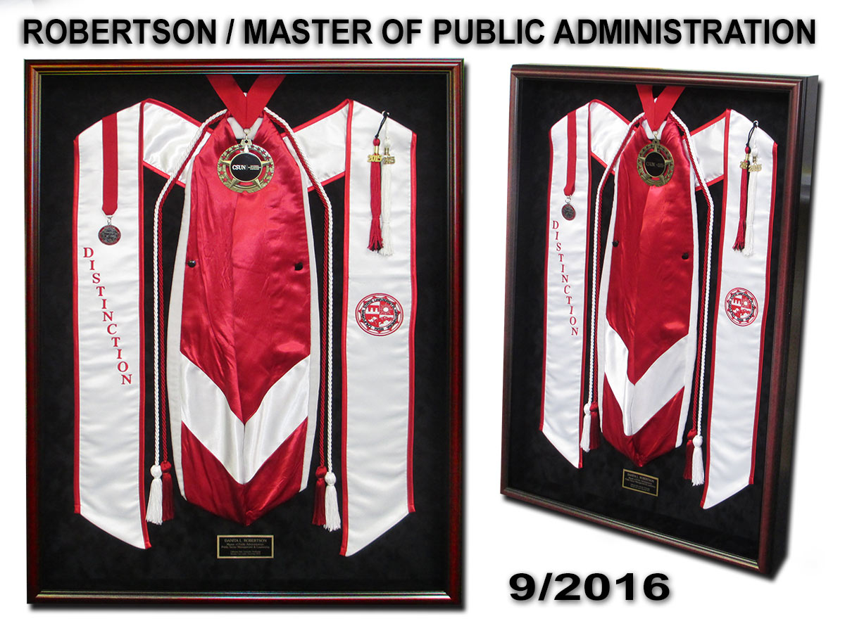 Robertson - Master of Public Administration
