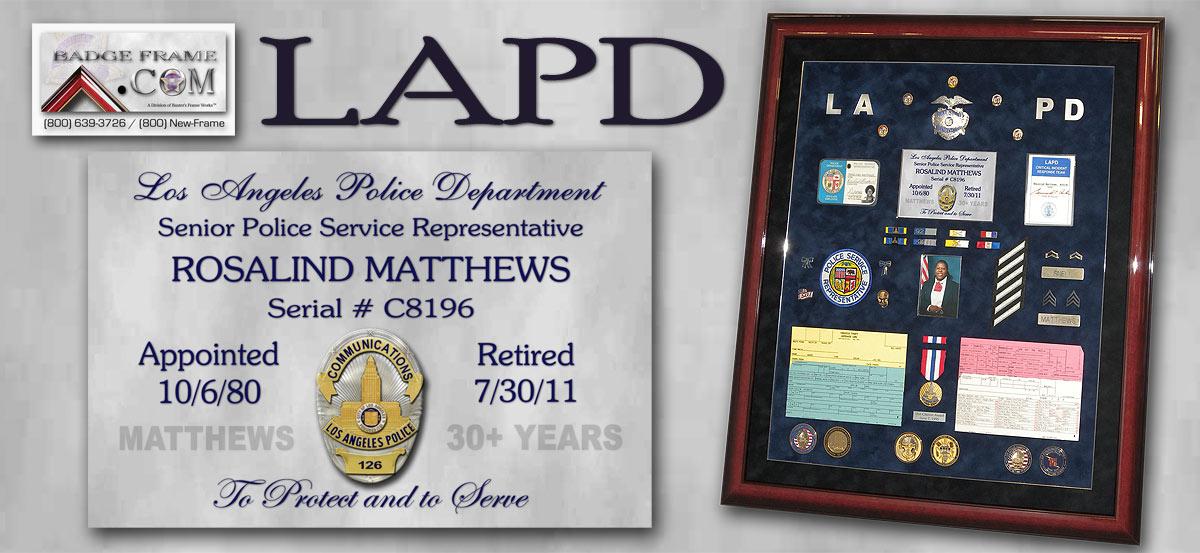Rosalind Matthews - LAPD