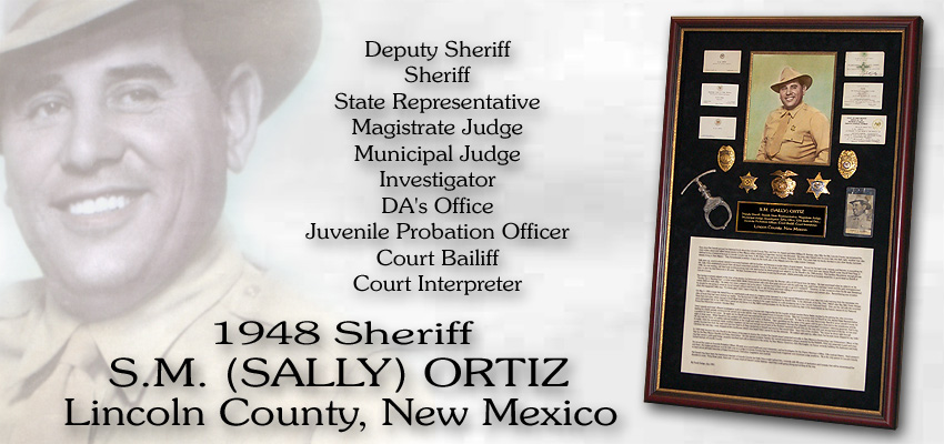 Sally Ortiz - Lincoln         County Sheriff