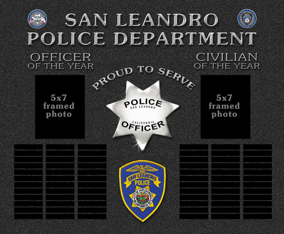 San Leandro PD Projects