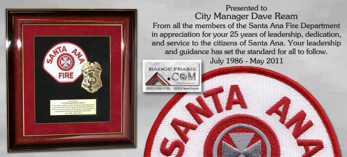 Santa Ana Fire Appreciation Presentation