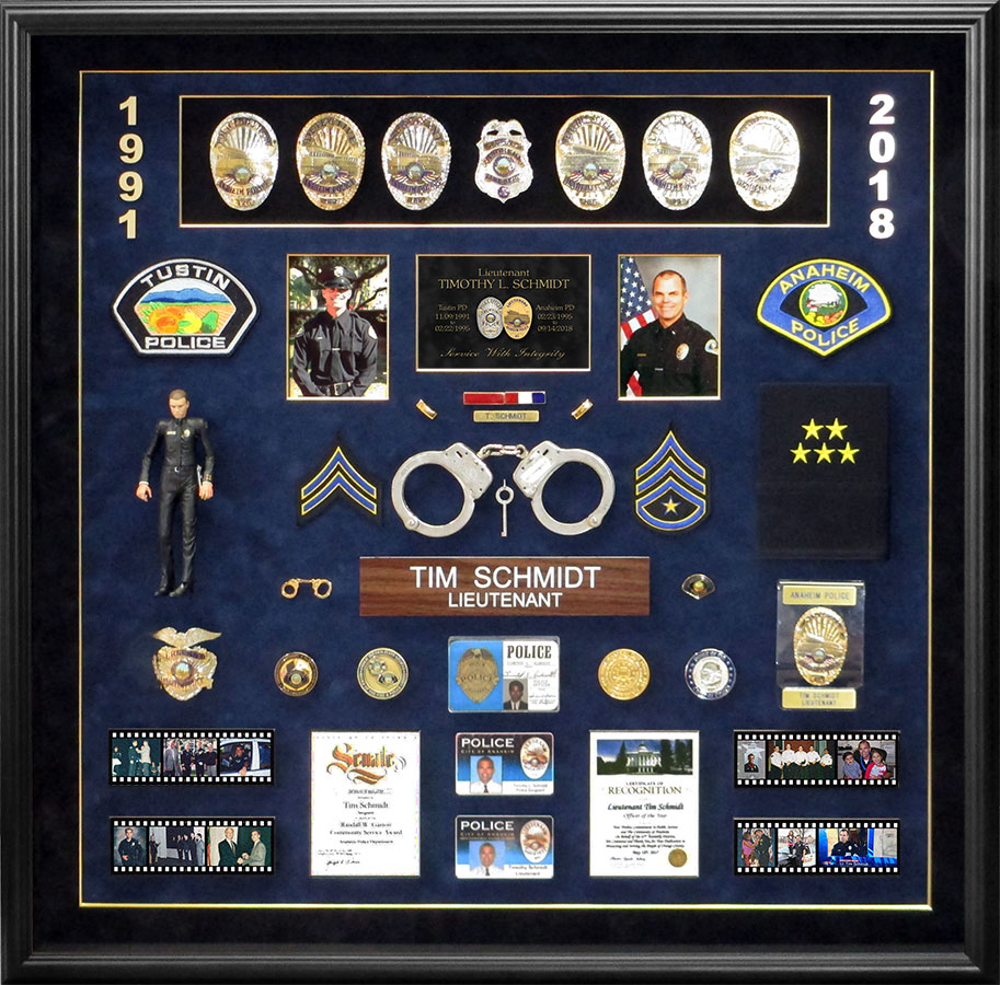 Schmidt / Anaheim PD Retirement