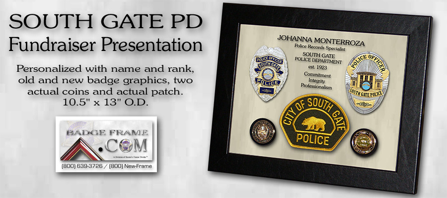 South Gate PD Fundraiser Presentation