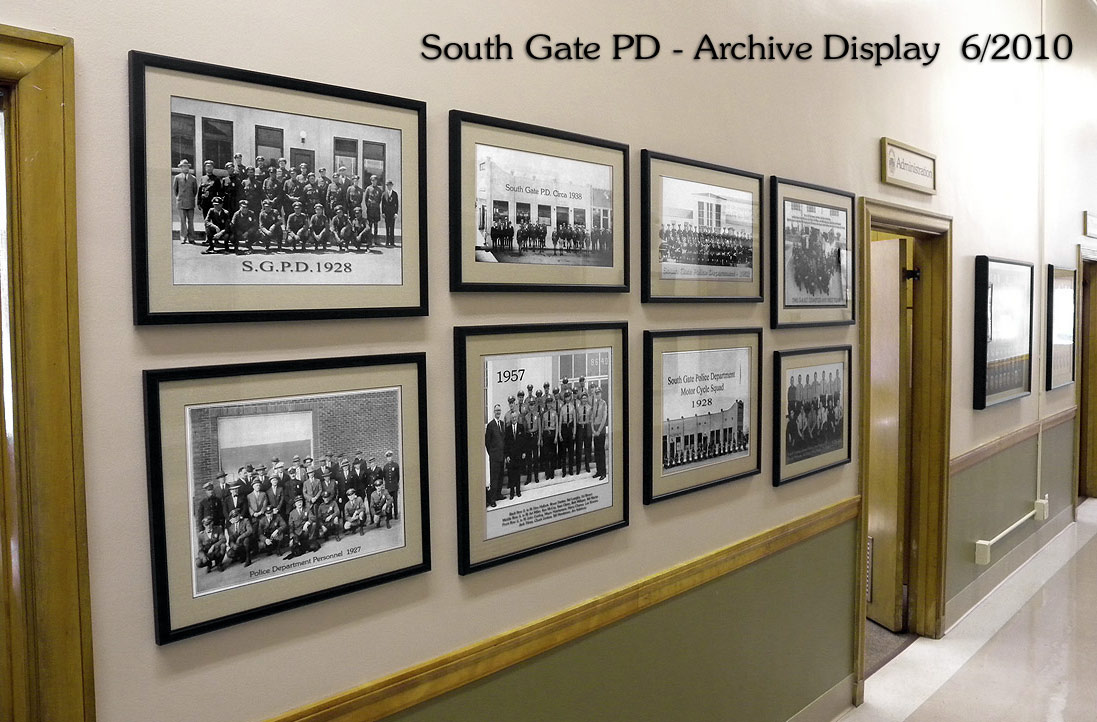 South gate PD Archive
