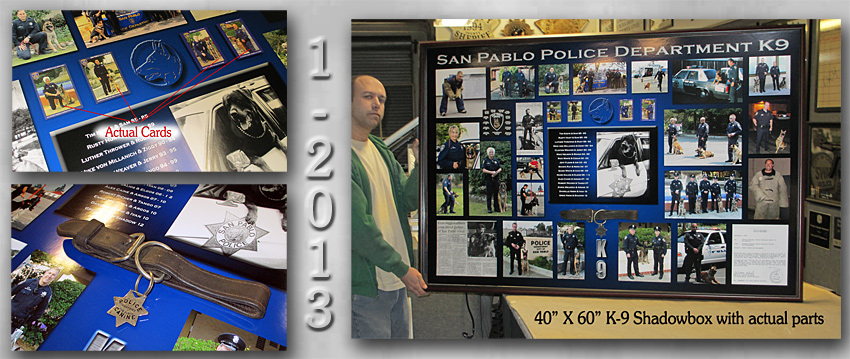 San Pablo PD - K9 Collage