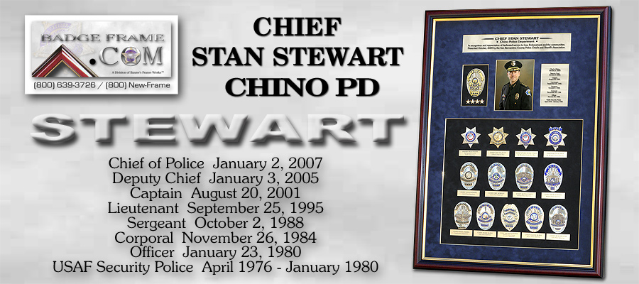 Chief Stan Stewart -