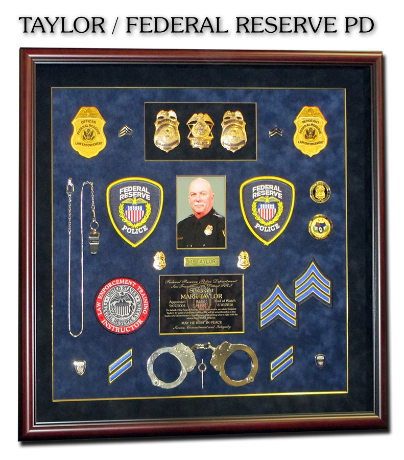 Taylor - Federal Reserve PD -            Retirement Presentation from Badge Frame
