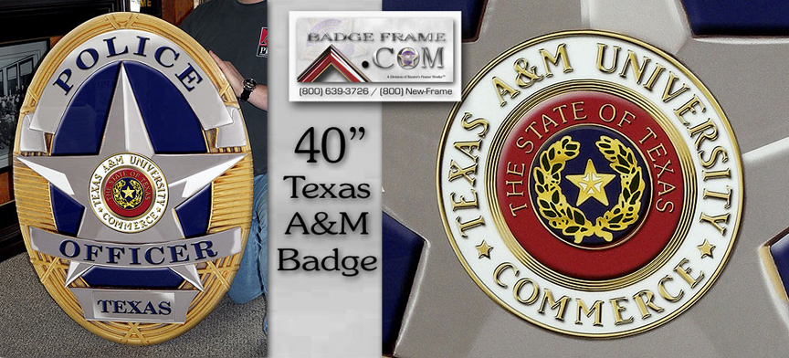 Texas A&M Badge