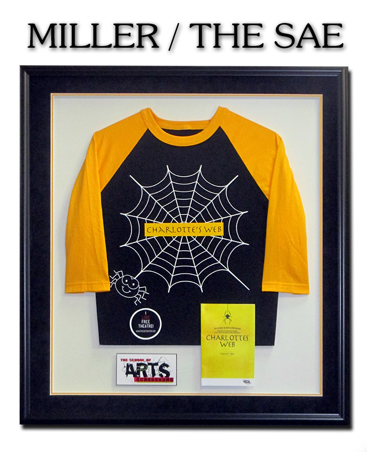 Phil Miller - The SAE - Charlotte's  Web Shirt